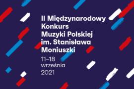 Zdjęcie: II Międzynarodowy Konkurs Muzyki Polskiej im. Stanisława Moniuszki startuje 11 września w Rzeszowie