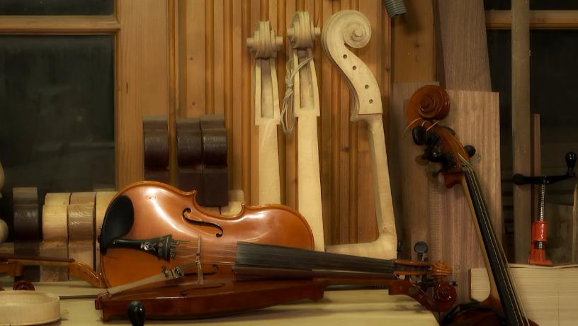 """Zdjęcie: """"Instrumenty z duszą"""" – skrzypce"""