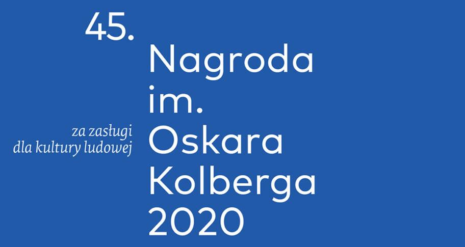 """Zdjęcie: Nagroda im. Oskara Kolberga """"Za zasługi dla kultury ludowej"""" 2020"""